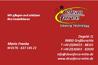 Cleanforce Mitte - Mario Franke